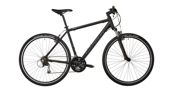 Serious Cedar Bicicletta ibrida nero